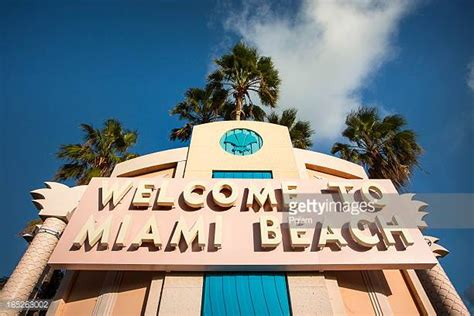 imagenes welcome to miami miami beach stock photos and pictures getty images