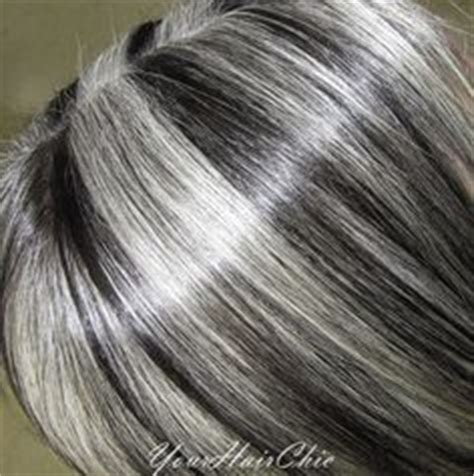 lowlights and highlights to soften the transition to grey lowlights and highlights to soften the transition to grey