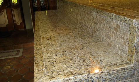 Installing Granite Tile Countertops by Tile Countertops Tile Installation Granite Tile New
