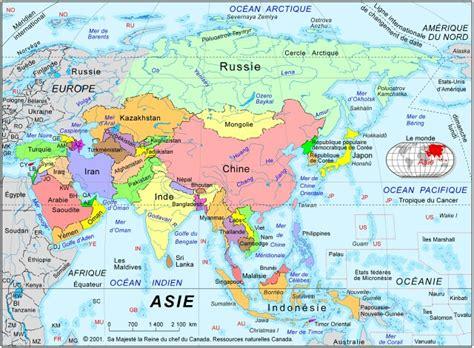 la carte et le 2081365456 cartograf fr les cartes des continents l asie