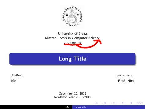 beamer themes logo master thesis beamer