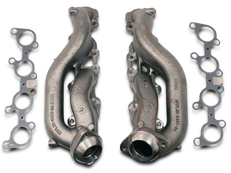 ford f150 exhaust manifold ford performance f 150 stock replacement exhaust manifolds