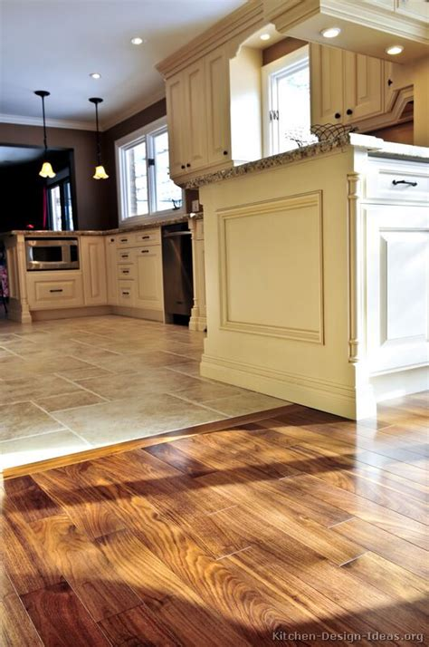 kitchen floor ideas pinterest kitchen idea of the day perfectly smooth transition from