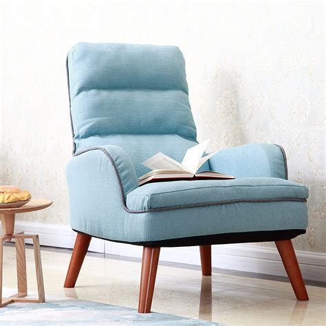 japanese  chair upholstery fabric seat living room furniture legs wood occasional modern