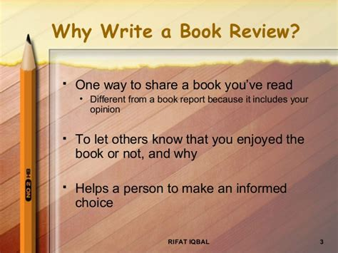 Write A Review On Books by Writing A Book Review 2