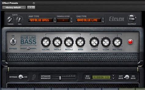 Eleven Rack Bass Presets by How To Create The Iron Maiden Bass Sound Avid With Eleven
