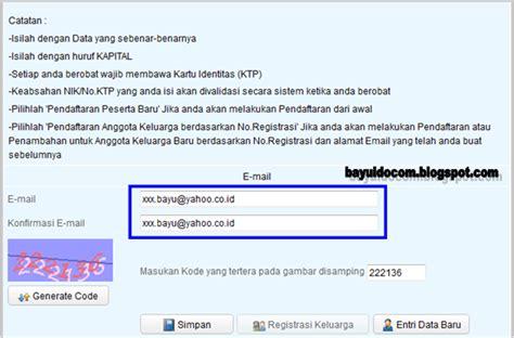 email bpjs kesehatan tutorial komputer laptop printer mikrotik cara daftar
