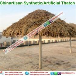 Tiki Bar Thatch For Sale Artificial Palm Synthetic Thatch For Hotels Umbralle