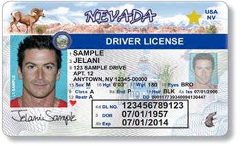 nevada id card template nevada nv compliancewiki