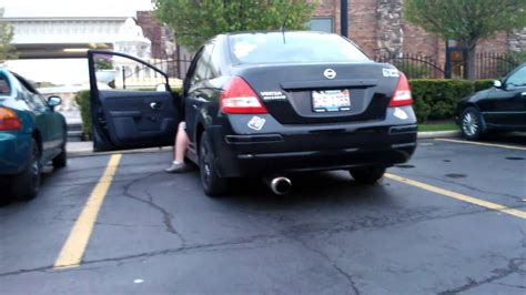 custom nissan versa 2010 versa custom exhaust youtube