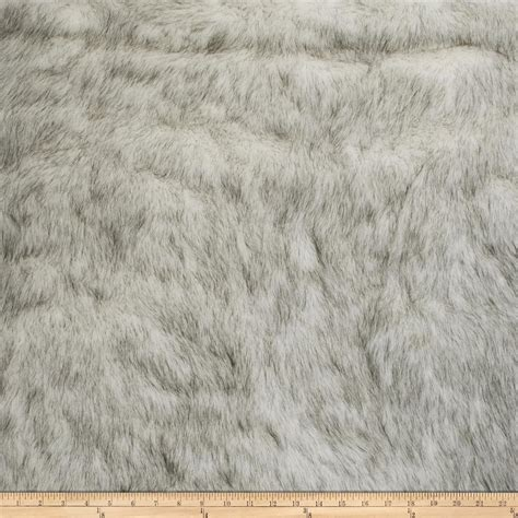 Fur Upholstery Fabric by Fabricut Polar Fur Faux Fur Black White Discount Designer Fabric Fabric
