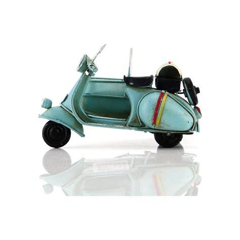mnk el yapimi eskitilmis metal vintage vespa motorsiklet