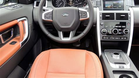 2016 land rover discovery interior land rover s discovery sport big on space road