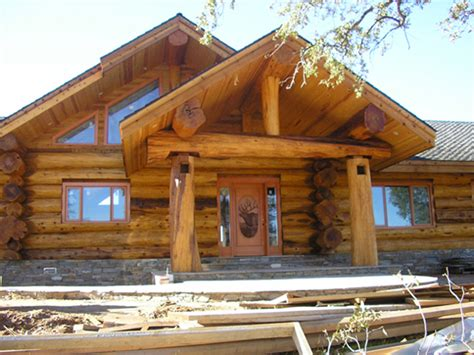 Log Cabin Contractors by Log Cabin By Heltebrake Construction