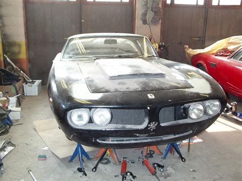 Lamborghini Project Car For Sale For Sale Iso Grifo 7 Liter And Two Lamborghini Miuras