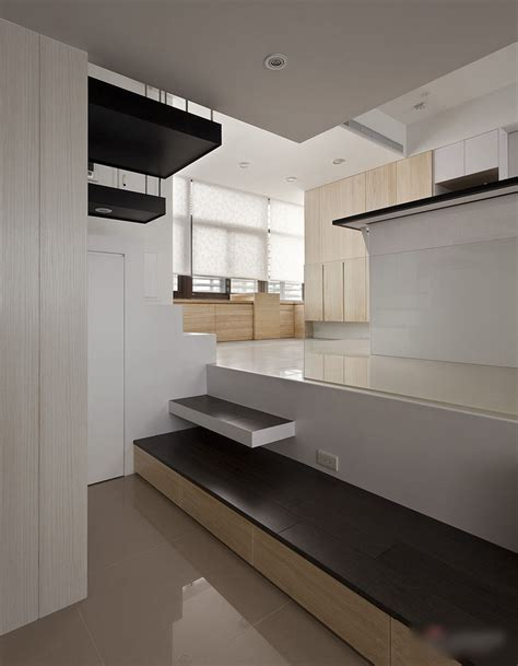 small loft apartment open kitchen modern small apartment with open plan and loft bedroom