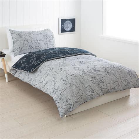 kmart kids bedding dino reversible quilt cover set double bed kmart