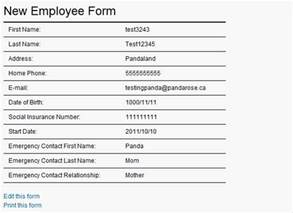 new hire form template new employee form template search results calendar 2015