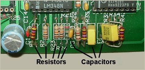 inductor printed on circuit board rc networks energy phase and impedance