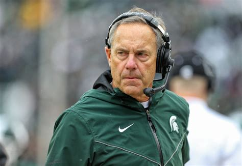 mark dantonio responds  report  fake news claim
