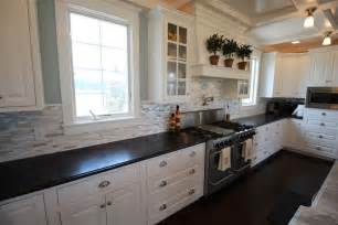 Kitchen White Backsplash by 25 Stylish Galley Kitchen Designs Designing Idea