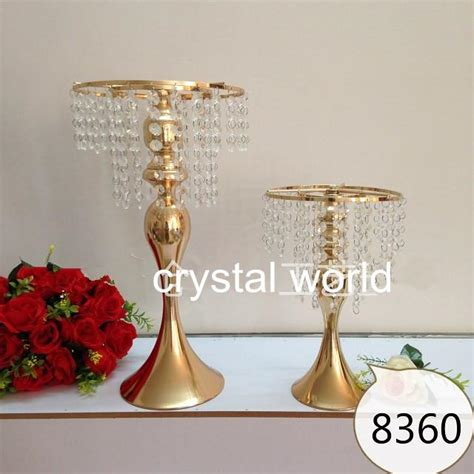 flower stands for centerpieces gold mental flower stands wedding 6672 table