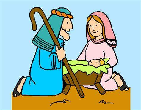 imagenes de los pastores en el nacimiento de jesus dibujos de belenes para colorear dibujos net
