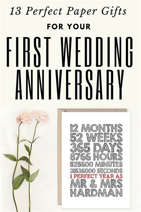 Best 25  Wedding anniversary gifts ideas on Pinterest
