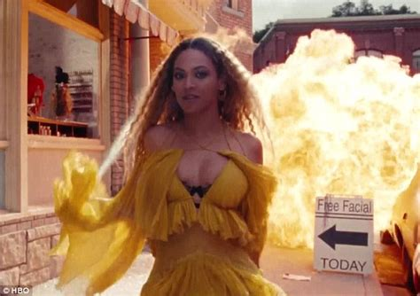 beyonce songs on album beyonc 233 doubles down on black lives matter theme in