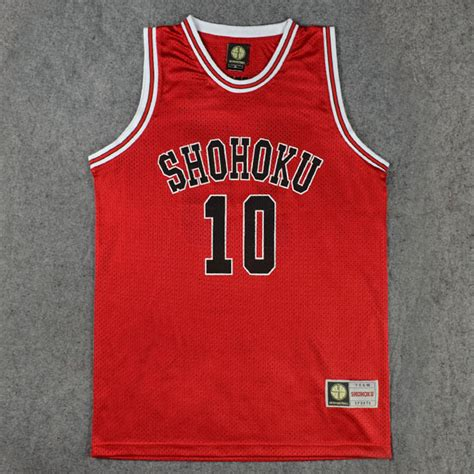 Kaos Anime Slam Dunk Shohoku 10 slam dunk4 shohoku chinaprices net
