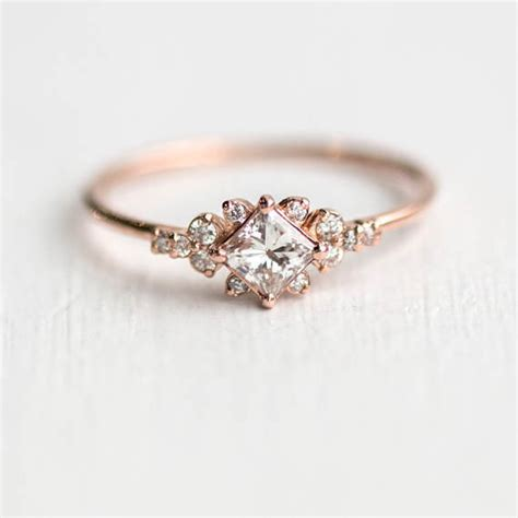 Cut Engagement Rings Gold Jewelry by 16 Gold Engagement Rings So Pretty They Ll Make You