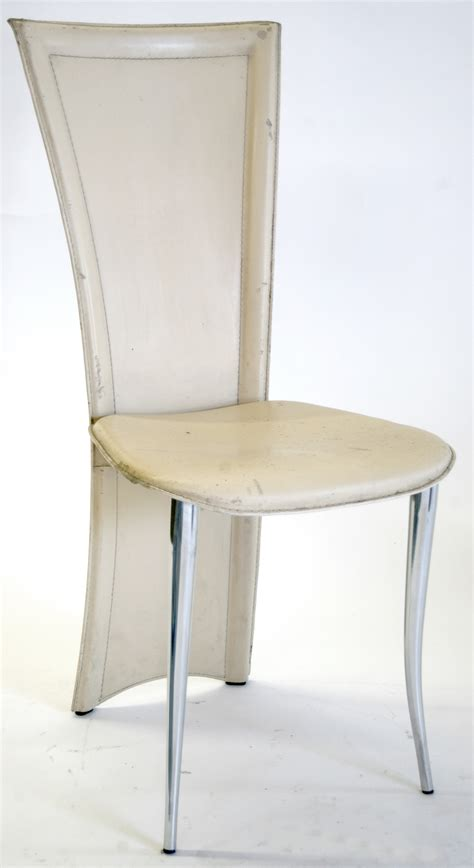 Metal Dining Room Chair by Modern Italian Quia Dining Chairs Metal Frame Leather