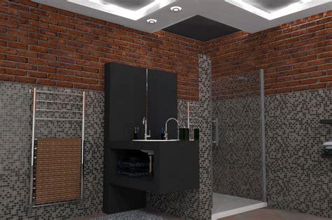 bagni docce arredo bagno idee docce in muratura con bei mobili per