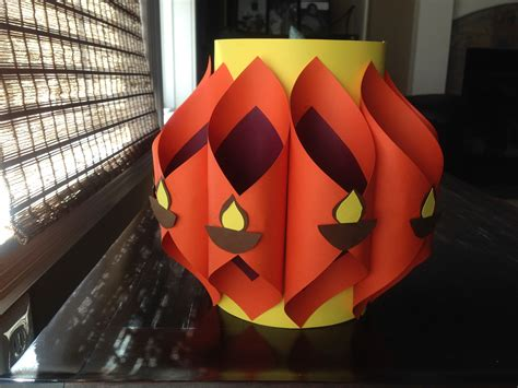 Make Paper Kandil Diwali - how to make an akash kandil bombay