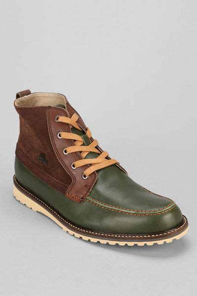 outfitters mens boots outfitters lacoste marceau 4 boot in green for