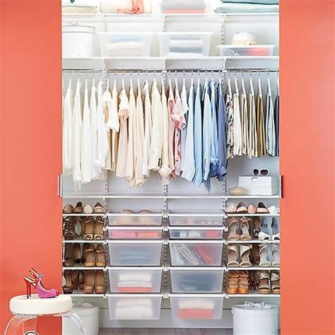 Elfa Closet Sale by White Elfa Chic Reach In Closet D Reach In Closet And