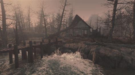 nuevas imagenes fallout 4 fallout 4 far harbor unreachable island off the coast