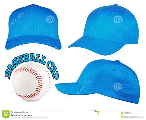 light blue baseball cap light blue baseball cap set stock photo image 49832621