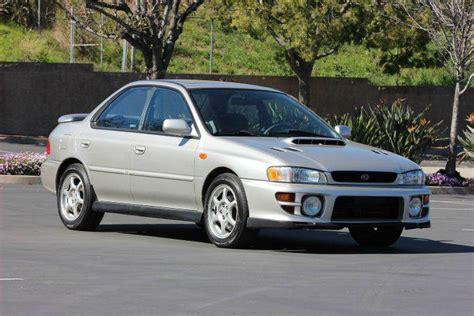 2000 subaru 2 5 rs for sale 2000 subaru impreza 2 5 rs awd 4dr sedan in valley