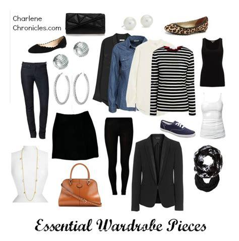 wardrobe essential pieces charlene chronicles