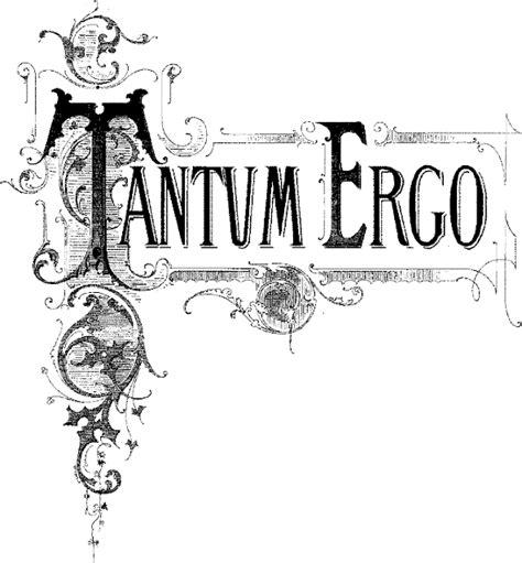 tantum ergo sacramentum testo cantuale antonianum