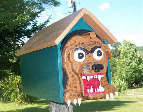Handmade Mailboxes - 24 creative handmade mailbox designs style