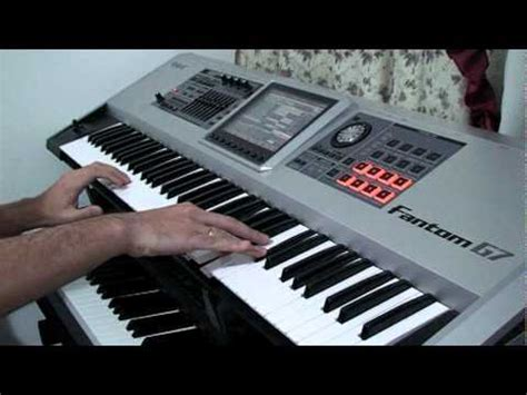Keyboard Roland Fantom G7 mr crowley intro on a roland fantom g7 keyboard