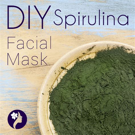 Masker Green Mask Spirulina diy spirulina mask diy