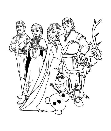 dessins de coloriage la reine des neiges  imprimer