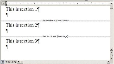 word document sections ewbi develops more word section deletion confusion