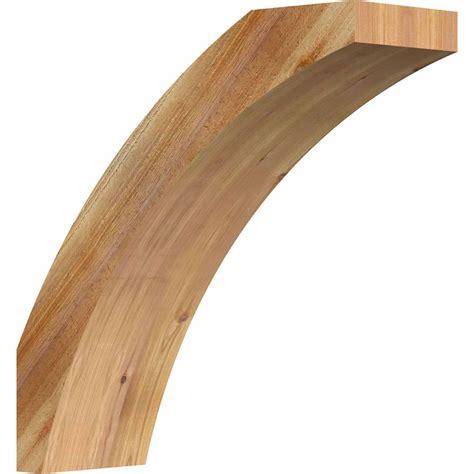 Rustic Wood Brackets Ekena Millwork Brcthr00 Thorton Rustic Timber Wood Brace