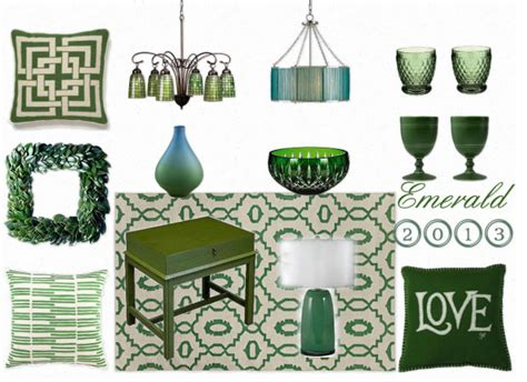 emerald green home decor home decor trend predictions for 2013 home stories a to z