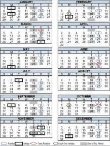 Payroll Calendar 2017 Payroll Calendar My