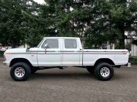 1974 ford crew cab for sale find used 1974 ford f 250 crew cab 4x4 highboy 460 v8